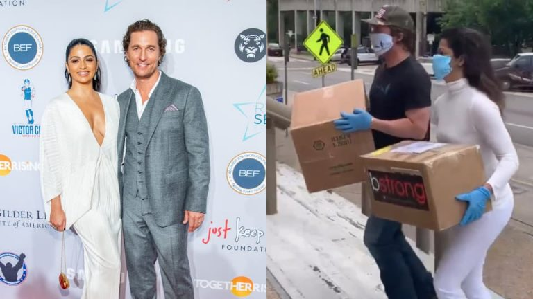 Matthew McConaughey, wife Camila to donate 80,000 face masks to COVID-19 frontliners