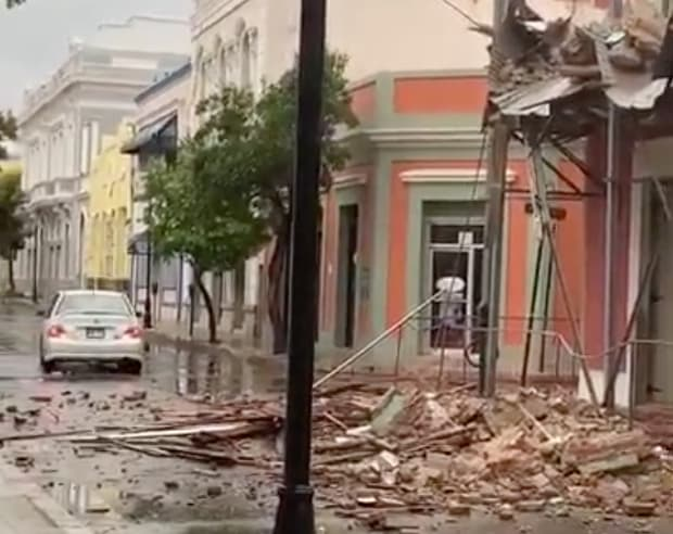 Historic Museum Damaged As Earthquake Strikes Puerto Rico