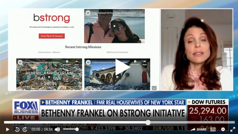 Bethenny Frankel brings emergency aid to Texas amid deadly winter storm