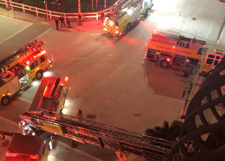 Florida tower survivor describes anguished cries of trapped neighbors