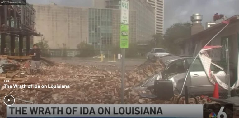 Local Group Providing Aid to Gulf Coast Residents Impacted by Hurricane Ida