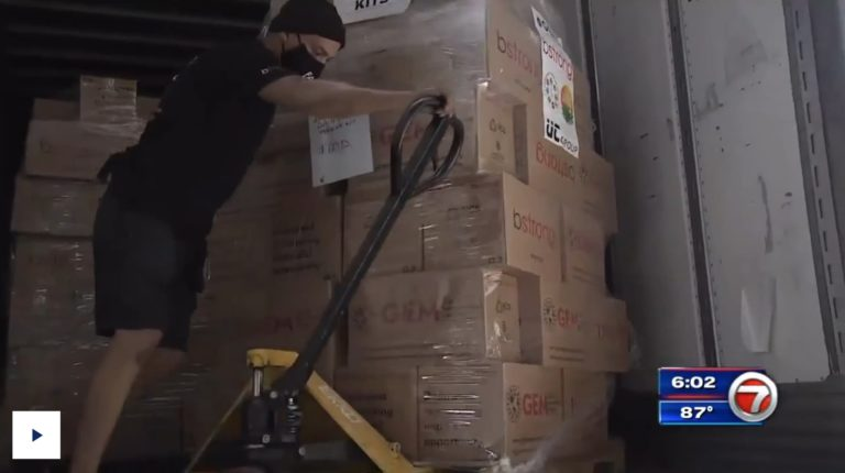 Global Empowerment Mission sends truck full of supplies to help Louisianans following Ida's wrath